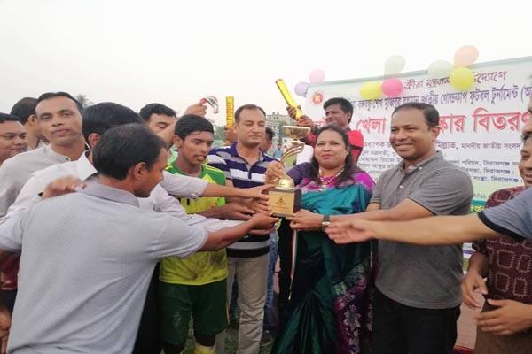 সিরাজগঞ্জে বঙ্গবন্ধু গোল্ড কাপ ফুটবল টুর্নামেন্ট'র ফাইনাল অনুষ্ঠিত