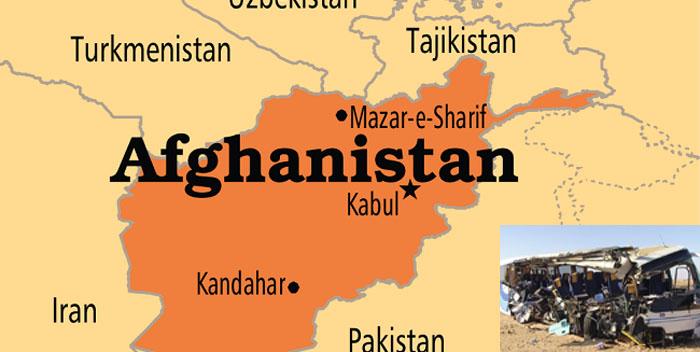 আফগানিস্তানে বাস-ট্রাক সংঘর্ষ: নিহত ১৫