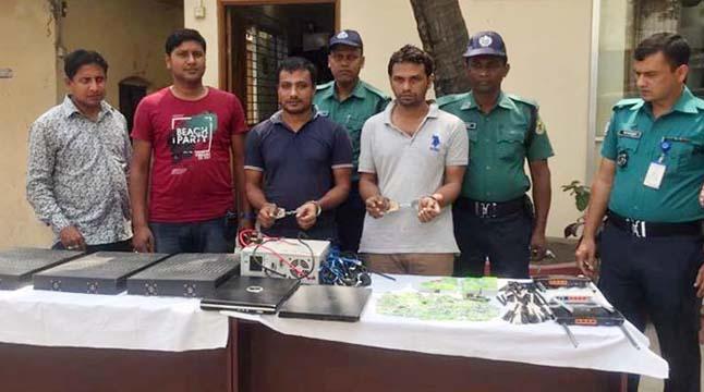 চট্টগ্রামে ভিওআইপি সরঞ্জামসহ গ্রেফতার ২