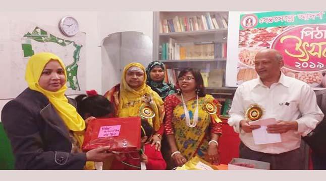 রোমের সেন্তসেল্লেতে পিঠা উৎসব