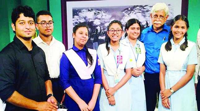 একুশে টিভিতে জাফর ইকবালের প্রজন্মে স্বাধীনতা