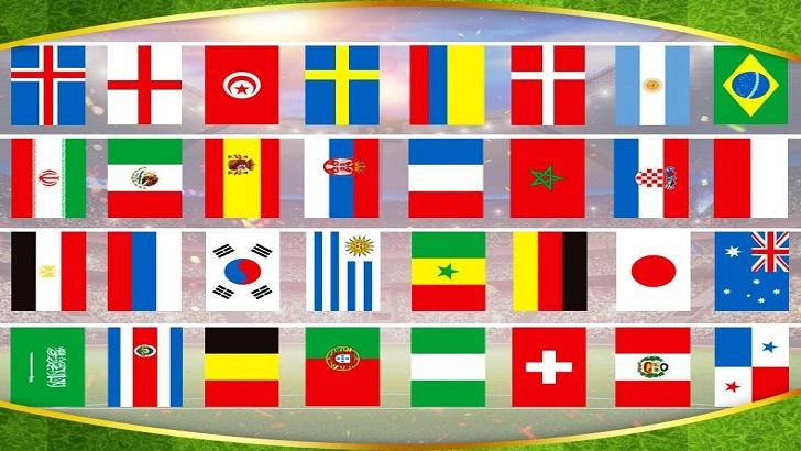 বিশ্বকাপের ৩২ দেশের অদ্ভুত নাম