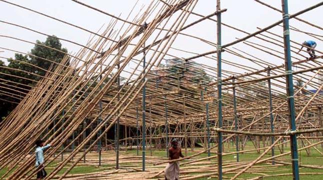 প্রস্তুত হচ্ছে লাখো মুসল্লির জাতীয় ঈদগাহ