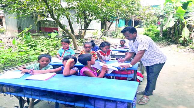 নতুন ভবন পাচ্ছে গোবিন্দপুর স্কুল