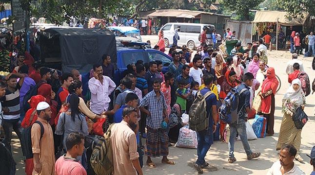 ঢাকা-আরিচা মহাসড়কে অতিরিক্ত ভাড়া আদায়