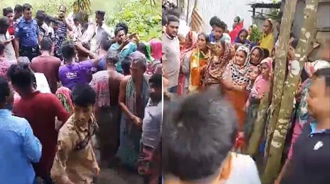 কুমিল্লায় ৪ জনকে কুপিয়ে হত্যা, গণপিটুনিতে ঘাতক নিহত