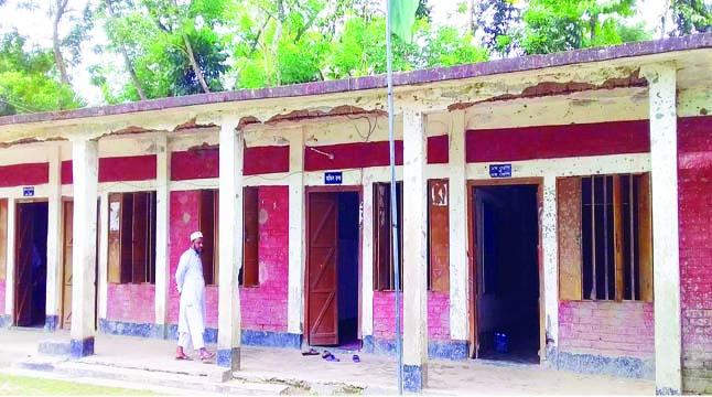 চাঁদপুরে আড়াই শতাধিক স্কুল ভবন ঝুঁকিপূর্ণ