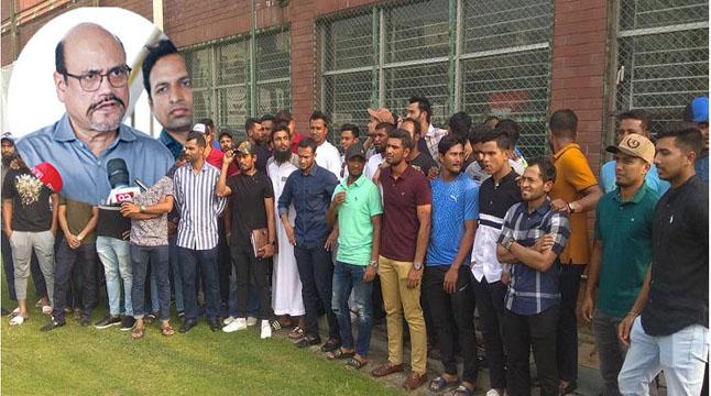 ক্রিকেটারদের ধর্মঘট: আজ বিসিবি'র জরুরি বোর্ড সভা