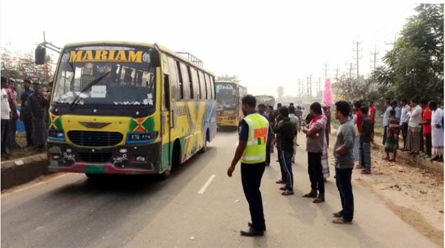 ঢাকা-ময়মনসিংহ মহাসড়কে যান চলাচল শুরু