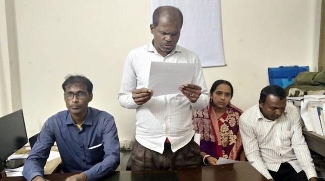 ৩০০ টাকা মজুরি দাবি
