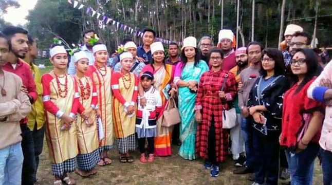 কমলগঞ্জে খাসি সম্প্রদায়ের 'সেং কুটস্নেম' উৎসব অনুষ্ঠিত