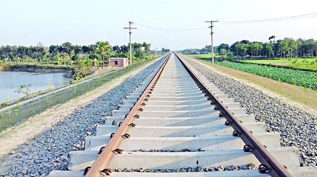 বগুড়া-সিরাজগঞ্জ রেলপথ নির্মাণ থমকে গেল