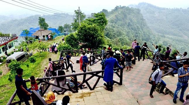 বান্দরবান পর্যটনে করোনায় ক্ষতি শত কোটি টাকা