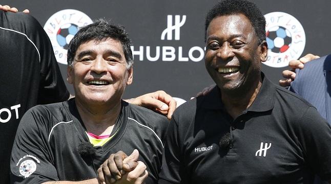 'আমরা একসঙ্গে স্বর্গে ফুটবল খেলব'