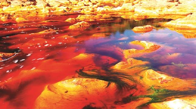 রহস্যময় 'রক্ত নদী'