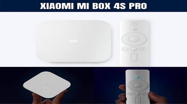 Mi Box 4S Pro, 8K রেজুলেশন ভিডিও সাপোর্টসহ লঞ্চ