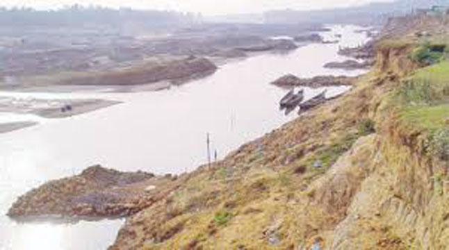 নাব্য সংকটে পাঁচ নদী
