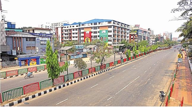 সুনসান নিরবতার রাজধানী ঢাকা