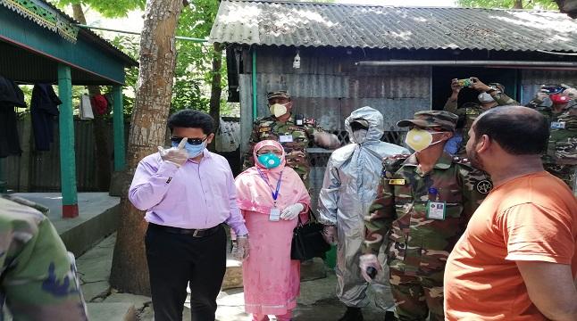 হোম কোয়ারেন্টাইন তদারকিতে সেনাবাহিনী