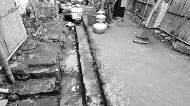 কুলাউড়া রেলওয়ে জংশনে পানি সংকট