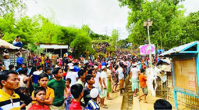 রোহিঙ্গা শিবিরে করোনা, স্বাস্থ্য বিপর্যয়ের আশঙ্কা