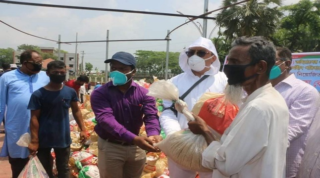 লালমোহন-তজুমুদ্দিনবাসীর খাদ্য সহায়তায় হটলাইন চালু