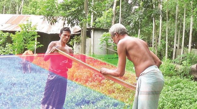 শাড়ির সুনাম টাঙ্গাইল জামদানি