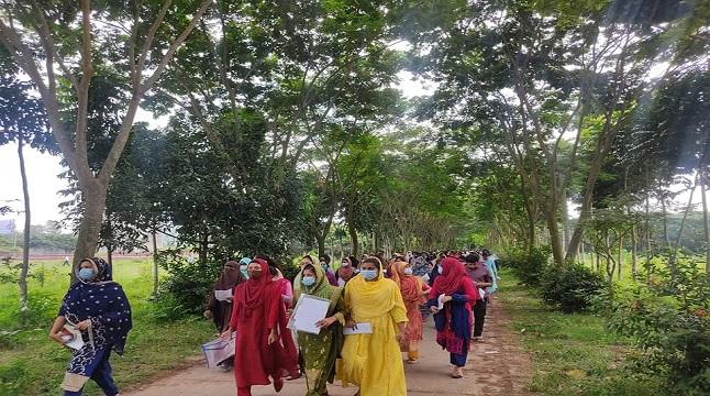 বেরোবিতে 'ক' ইউনিটের গুচ্ছ ভর্তি পরীক্ষা সম্পন্ন