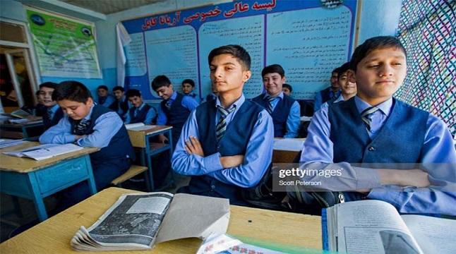 মেয়েদের ছাড়াই আফগানিস্তানে ক্লাসে ফিরছে মাধ্যমিকের শিক্ষার্থীরা
