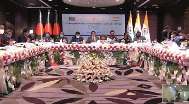 সীমান্তে সহযোগিতা বৃদ্ধির প্রতিশ্রুতি বাংলাদেশ-ভারতের