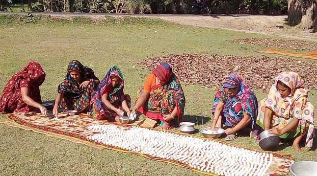 'কুমড়া বড়ি'র গ্রাম